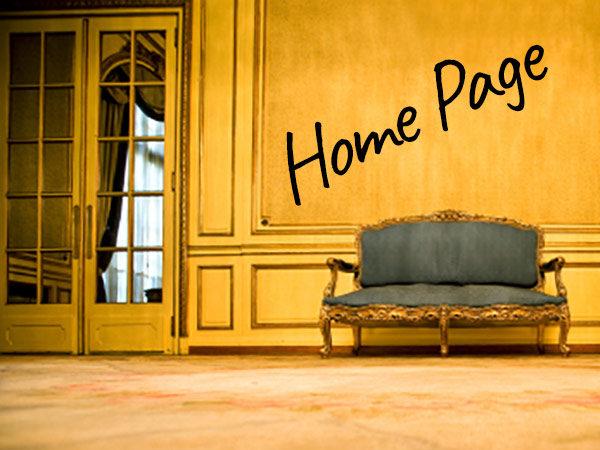 website copywriting home page